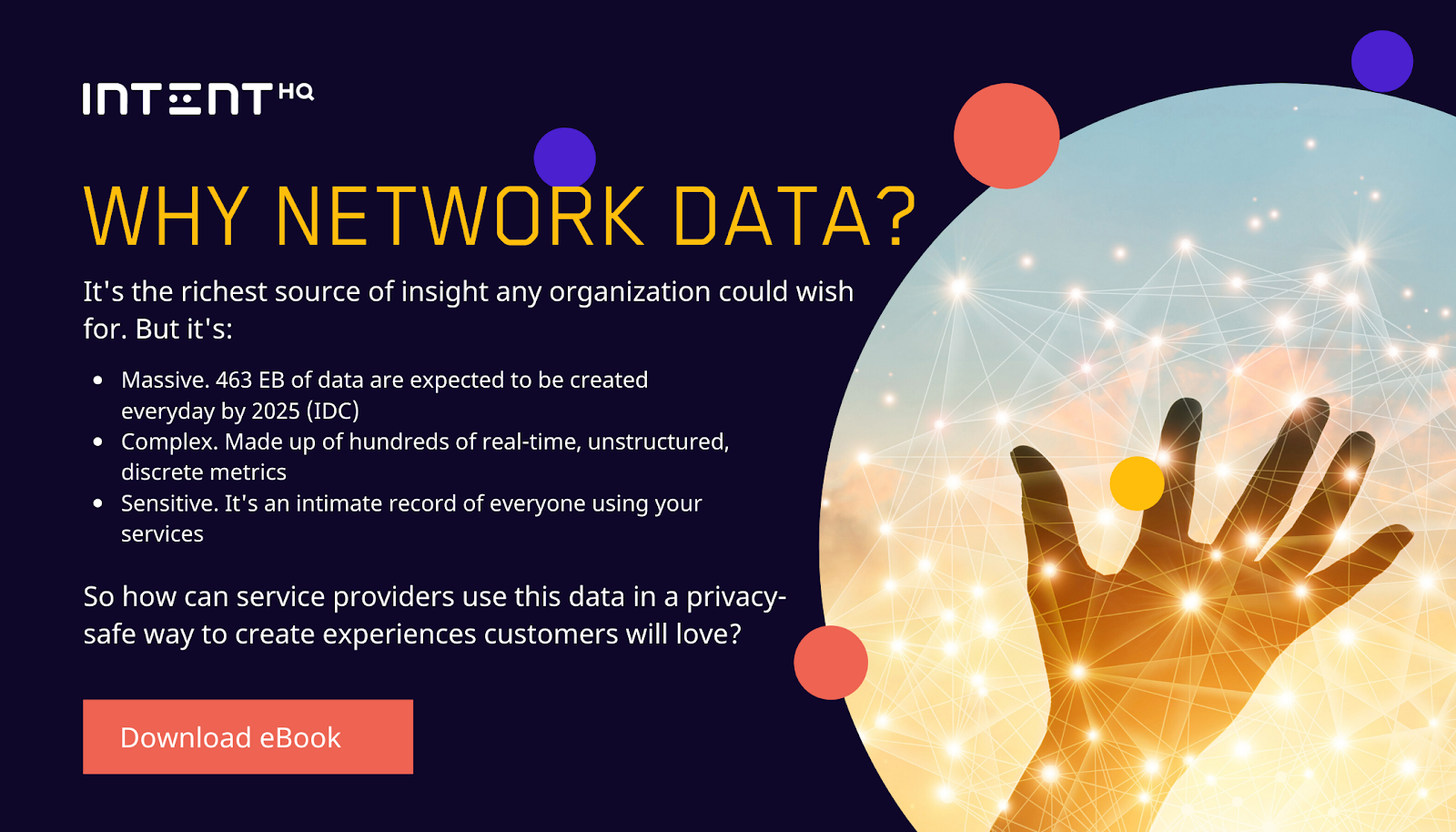 Why network data to create better experiences
